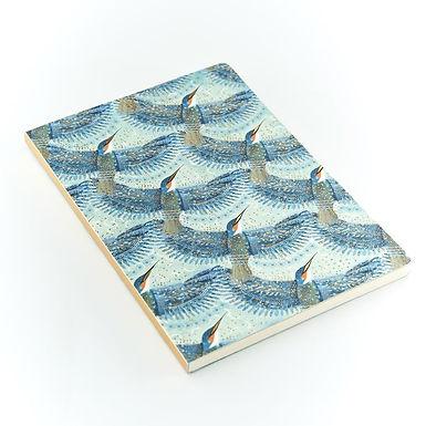 Opium Kingfisher A5 Notebook