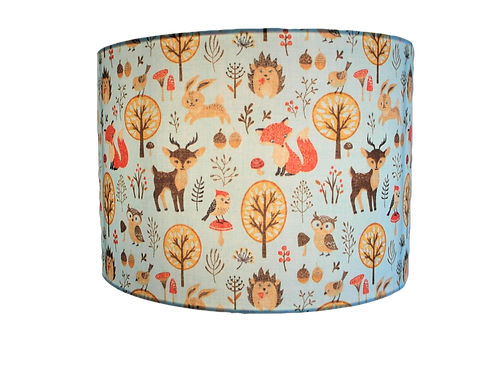 Forest Family Handmade Lampshade