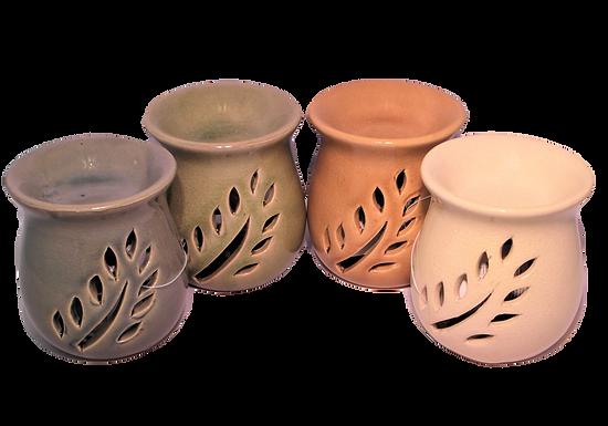 Small Leaf Ceramic Oil Burner