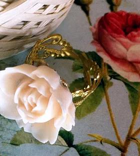 White Rose Shaped Ring.webp