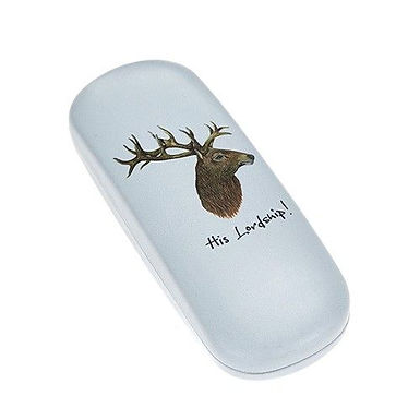 Stag 'His Lordship' Hard Glasses Case