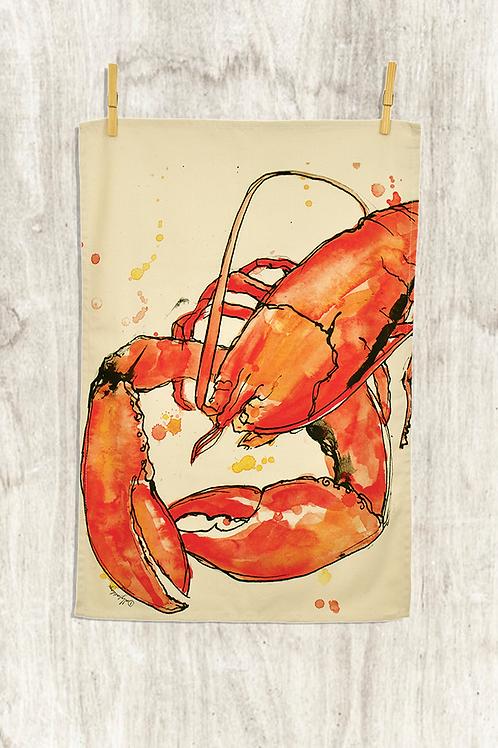Red Lobster Tea Towel