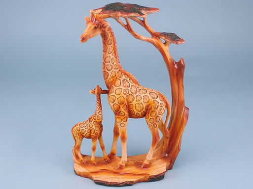 Wood Effect Giraffes