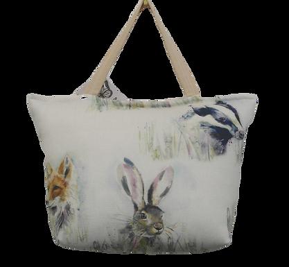 Handmade Voyage Maison fabric,  Wild Animals Doorstop