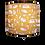 Thumbnail: Mustard Animals Handmade Lampshade