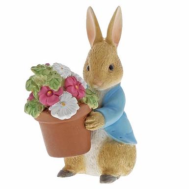 Beatrix Potter, Peter Rabbit brings Flowers, Mini Figure, A291579