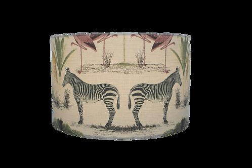 Longleat Zebra's Handmade Lampshade