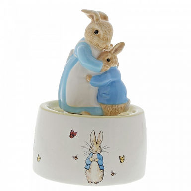 Mrs Rabbit and Peter Ceramic Musical