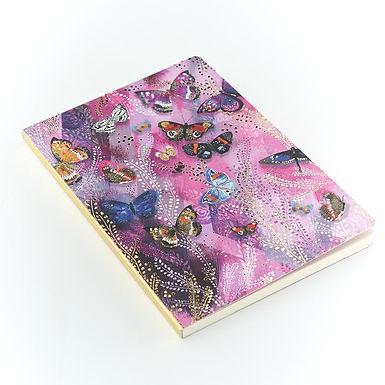 Opium Butterflies A5 Notebook