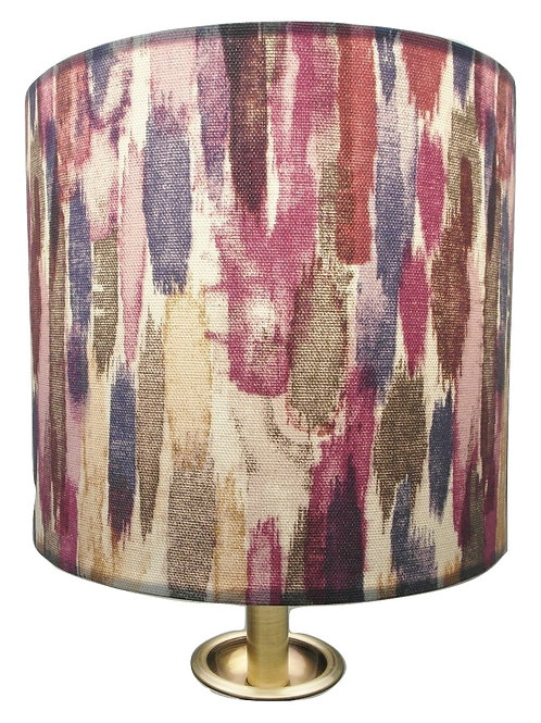 Medley Handmade Fabric Lampshade, Drum or Empire Shapes