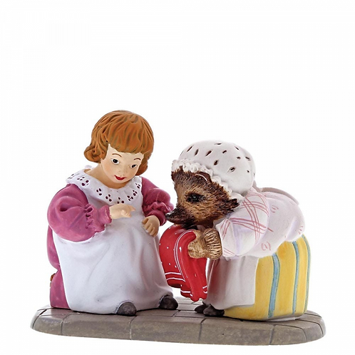 Beatrix Potter, Mrs Tiggy-Winkle and Lucie Mini Figure, A29191