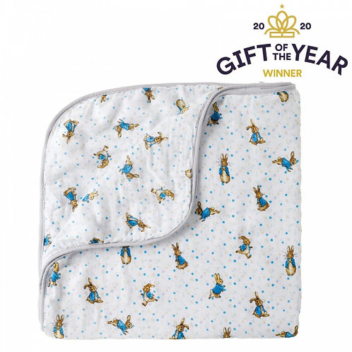 Peter Rabbit Baby Collection Face Cloth Blanket