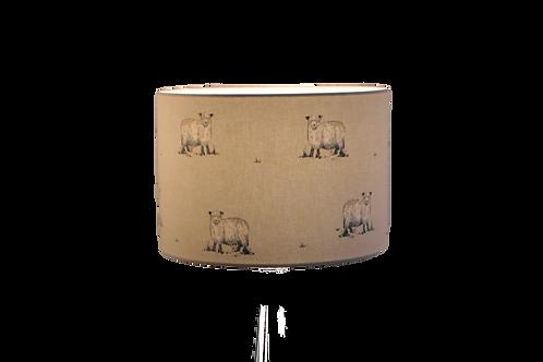 Rare Breed Sheep Handmade Lampshade