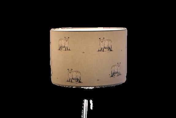 Clearance Rare Breed Sheep Handmade Lampshade