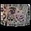 Thumbnail: Misty Moors Lilac Purple Floral Design Handmade Lampshade, Drum or Empir