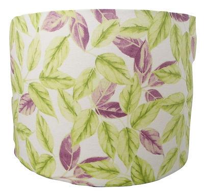 Bay Leaves Handmade Drum Lampshade