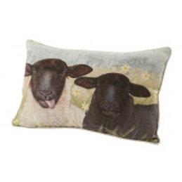 Sheep Couple Cushion
