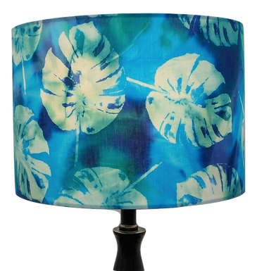 Blue Cheese Plant Tropical Handmade Shade, Drum or Empire Shapes