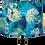 Thumbnail: Blue Cheese Plant Tropical Handmade Shade, Drum or Empire Shapes