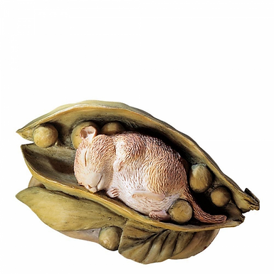 Beatrix Potter, Timmy Willie in a Pea Pod, Mini Figure