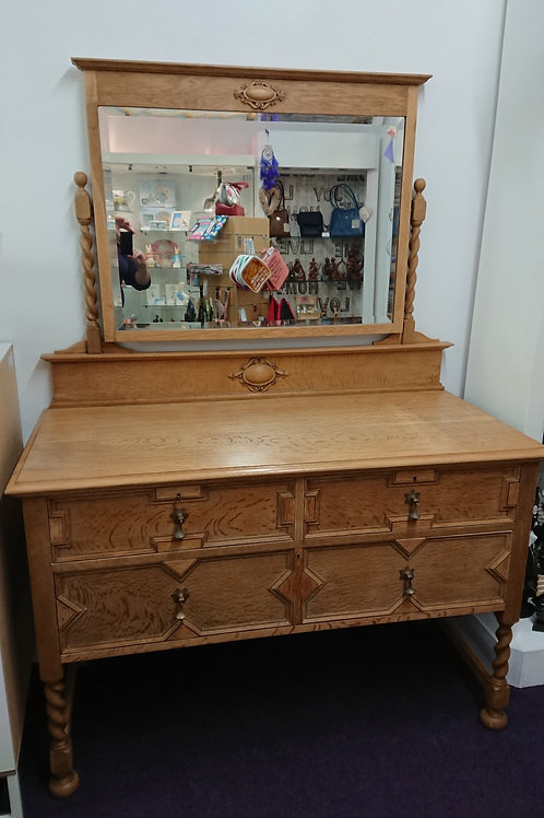 Antique Handmade Dressing Table Restored By Kabula Ltd