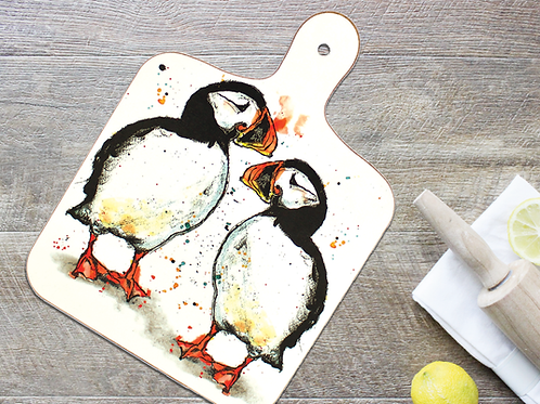Puffin Small Chopping Board