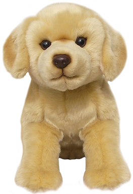 12'' Yellow Labrador Soft Toy