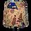 Thumbnail: Japanese Cotton Fuji and Maiko Geisha Handmade Empire or Drum Lampshade