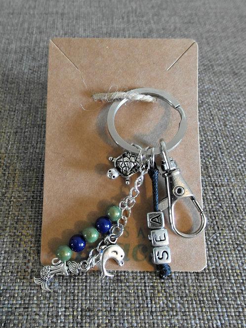 Sea Beach Themed Keychain