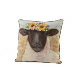 Flower Sheep Cushion