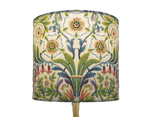 Molly Flowers Handmade Lampshade, Drum or Empire Shap
