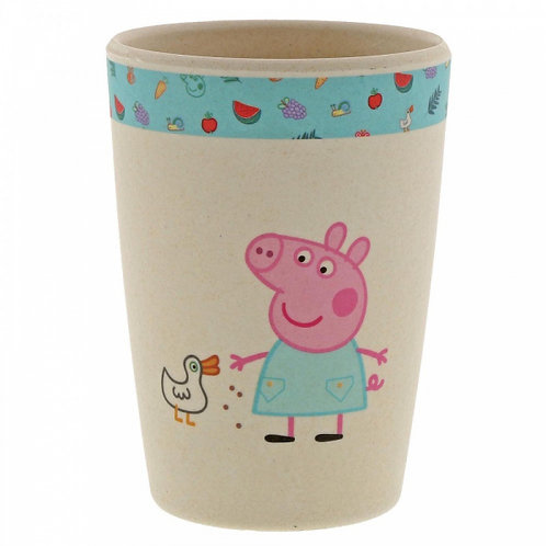 Peppa Pig Bamboo Beaker