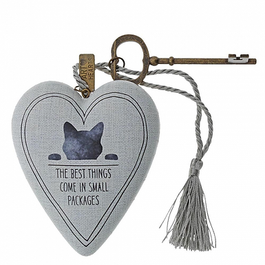 Cat Art heart