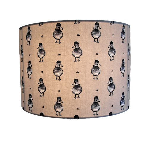 Country Duck Sage Handmade Lampshade