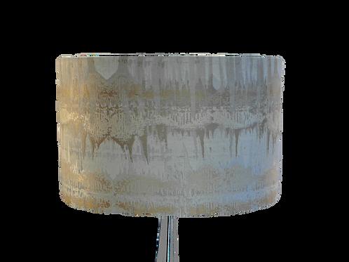 Inca Cream & Gold Handmade Lampshade, Drum or Empire Shap