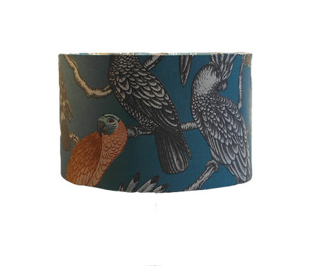 Aviary Parrots Tropical Handmade Lampshade