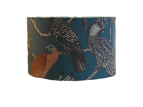 Aviary Parrots Tropical Handmade Lampshade
