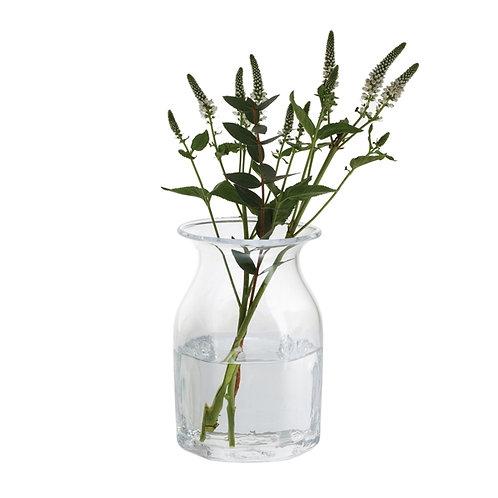 Finbarr Hexagonal Vase Clear 16cm