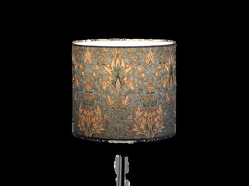 Snakeshead Aqua, Classic Design, Handmade Lampshade
