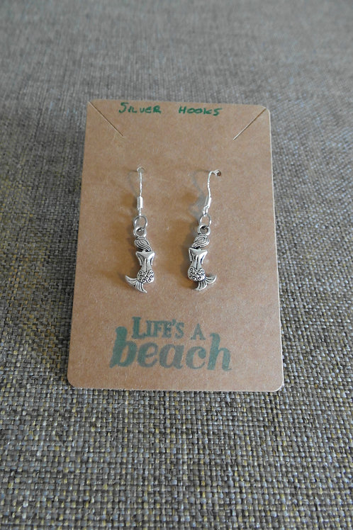Mermaid Earrings With Hooks