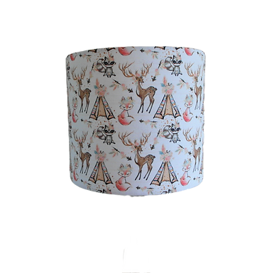 Animal Chic Campout, Handmade Lampshade