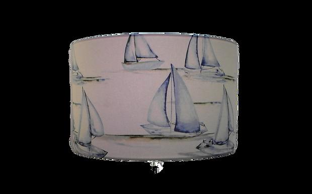 Hove Rivera Sailing, Beach Themed, Handmade Lampshade