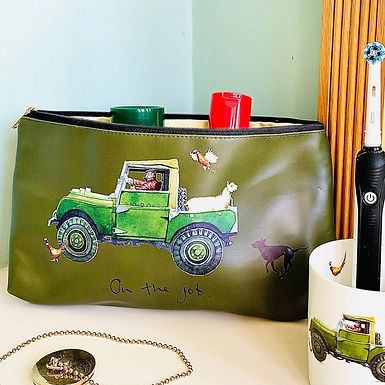 'On The Job' Land Rover Wash Bag