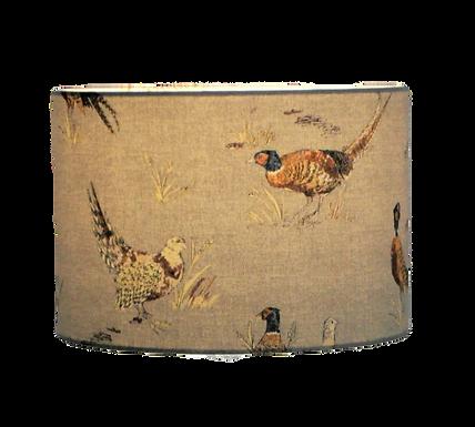 Country Pheasants Handmade lampshade, Drum or Empire Shap