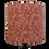 Thumbnail: Red Cotton Flowers Design Handmade Drum Shade