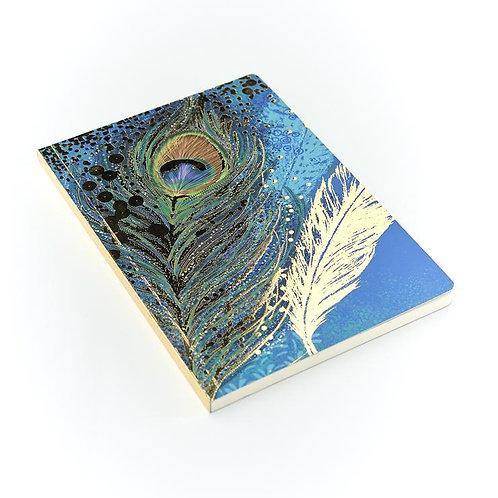 Opium Peacock A5 Notebook