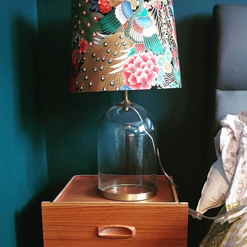 Japanese Peacock 30cm Empire Lampshade