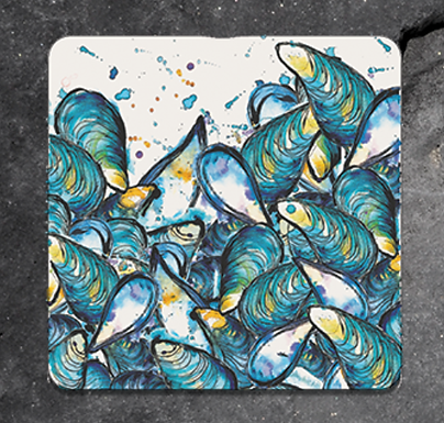Mussels Coaster
