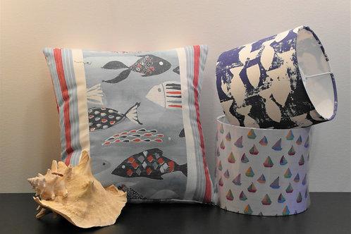 Ocean Fish Handmade Cushion