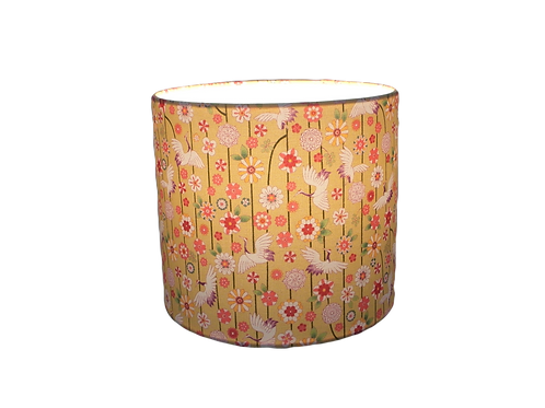 Clearance Japanese Cranes and Flowers Handmade Lamps